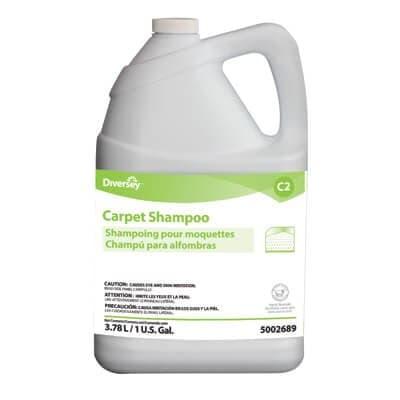 Carpet Shampoo, Floral Scent, Liquid