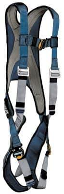 Large Blue/Gray Vest Style ExoFit Harnesses