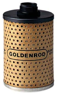 Goldenrod Filter Element with Water Absorbing Filter