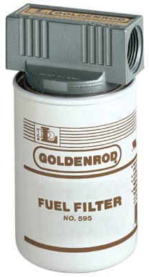 """1"""" 50.0 PSI Inline Disposable Spin On Fuel Filter"""
