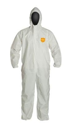 Dupont XXL ProShield NexGen Coverall with Hood, White
