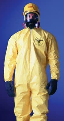Dupont X-Large Yellow DuPont Tychem QC Coveralls