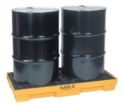2 Drum Modular Platform Spill Containment Pallet