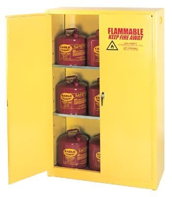 Eagle 45 Gallon Yellow Flammable Liquid Storage