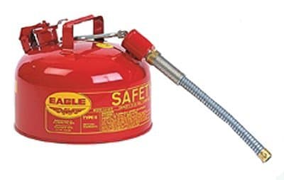 2 gal Galvanized Steel Type ll Safety Cans