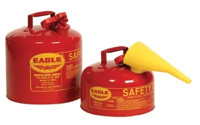 2 Gallon Galvanized Steel Type l Safety Can