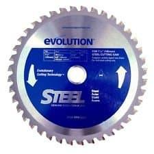 "Evolution  12"" TCT Mild Steel Metal-Cutting Blade"