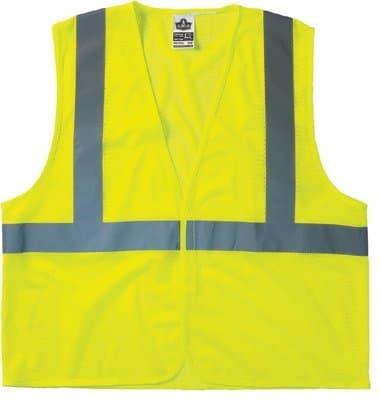 Small/Medium Lime Class 2 Economy Vest