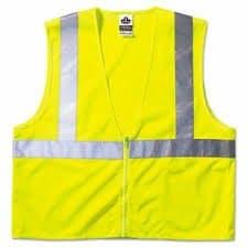 GloWear Class 2 Large/X-Large Lime Economy Vest