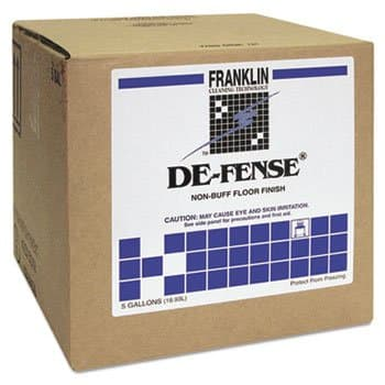Franklin 5 Gallon DE-FENSE Non-Buff Floor Finish