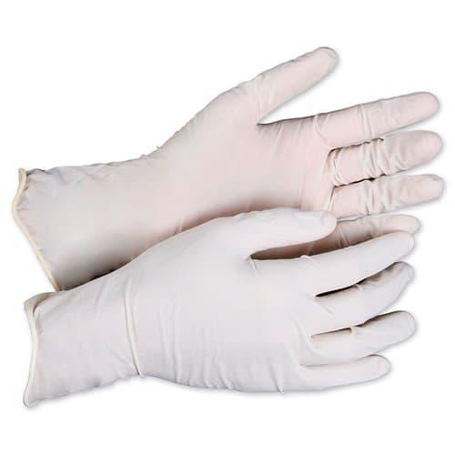 General Supply Powdered Latex General-Purpose Gloves, Natural, X-Large