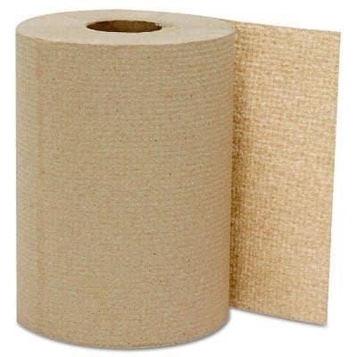 Kraft, Hardwound Roll Towels- 8-in x 300-ft.