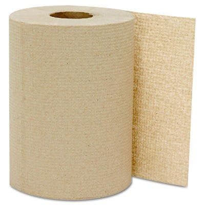 Kraft, Hardwound Roll Towels-8-in x 350-ft.