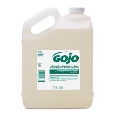 GOJO Antimicrobial Lotion Soap-1 Gallon