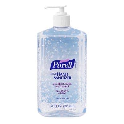 Pump Bottle Hand Sanitizer-20-oz