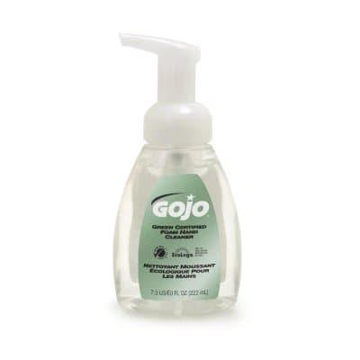 Clear, Fragrance Free Green Certified Foam Soap-7.5-oz Pump Bottle