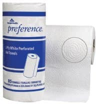 Georgia-Pacific White Preference Perforated 2 Ply Paper Towels