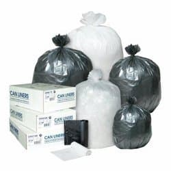 Integrated Bagging Systems Clear 6 Micr High-Density Commercial 4 Gal Can Liners