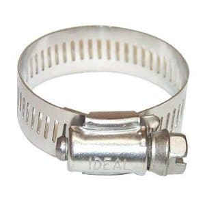 Ideal 3/8-in - 7/8-in 64 Series Worm Drive Clamp
