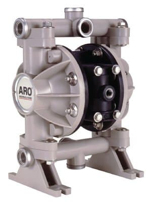 "Ingersoll-Rand 1/2"" Polypropylene/ Polyurethane Diaphragm Pump"