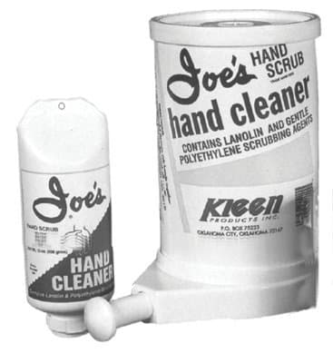 5 Gallon Hand Cleaner Scrub Plastic Container