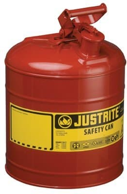 2.5 Gallon 6 Lb Galvanized Steel Type 1 Safety Can