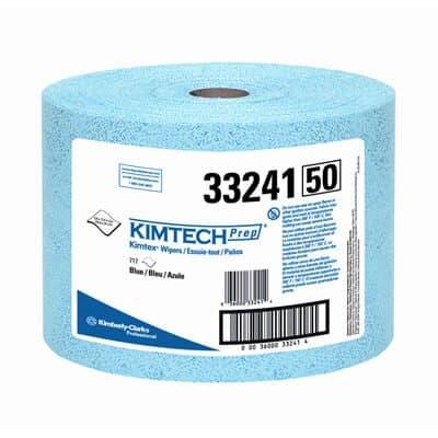 Blue, 717 Count Jumbo Roll KIMTECH PREP KIMTEX Wipers- 9.6 x 13.4