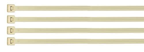 4-IN Nylon Cable Zip Ties, 18-LB Tensil Strength