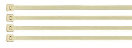 King Innovation 7-IN Nylon Cable Zip Ties, 50-LB Tensil Strength