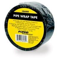 King Innovation 100-ft Pipe Wrap Tape, Black