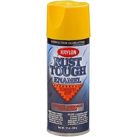 15 oz Rust Tough Safety Yellow Aerosol Enamel