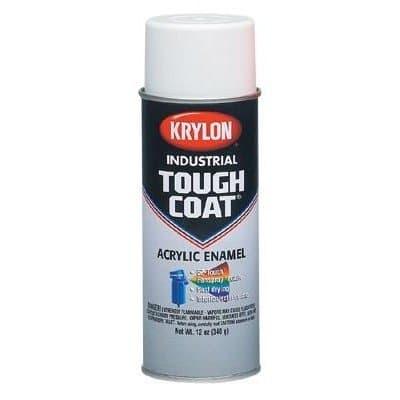 Krylon 12 oz Tough Coat Acrylic Enamel OSHA White