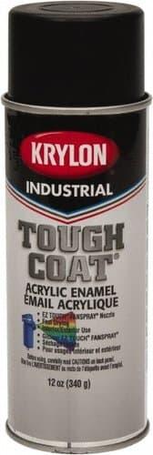 Krylon 12 oz Max-Flat Black Tough Coat Acrylic Enamel