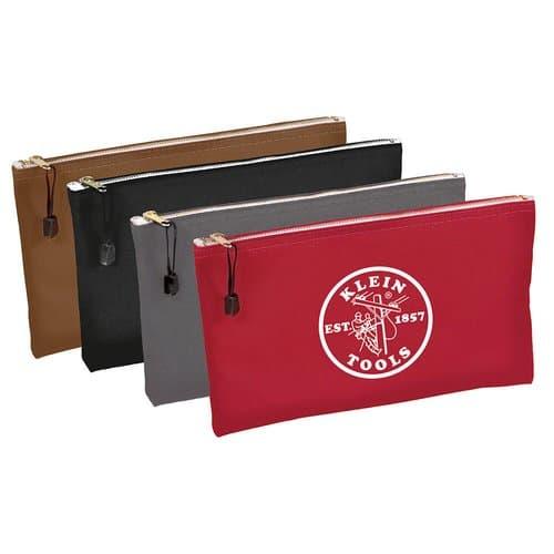 Zipper Bags-Canvas, 4-Pack