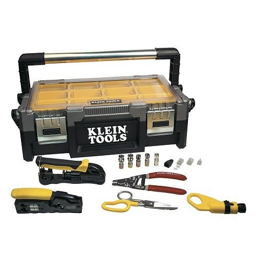 Klein Tools VDV ProTech Data and Coaxial Kit
