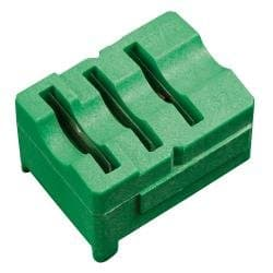 Radial Stripper Cartridge, RG58/59/62, 3-Level, Green