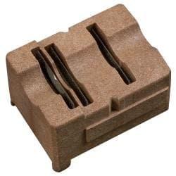 Radial Stripper Cartridge, RG58/59/62, 3-Level, Brown