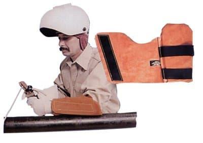Left Arm Heavy Duty Leather Armpads