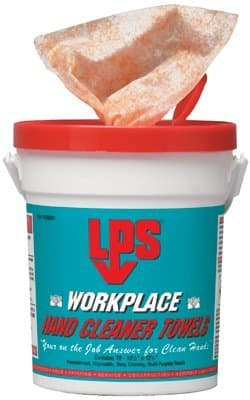 LPS Workplace Hand Cleaner Towels 72 Per Pail
