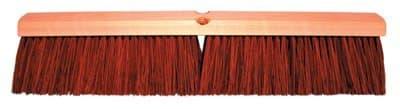 "24"" Streamlined Hardwood Garage Brush w/60 in Handle"