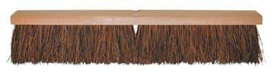 "18"" Stiff Palmyra Hardwood Garage Brush w/60 in Handle"