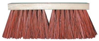 "16"" Hardwood Street Broom w/ Palmyra Bristles"