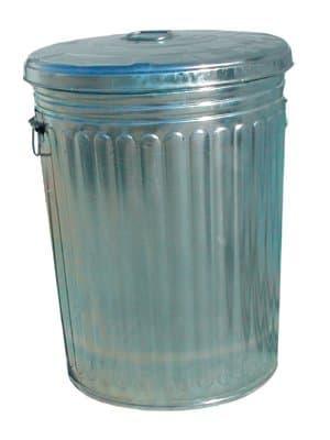 20 Gallon Galvanized Steel Trash Can w/ Lid