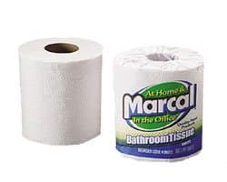 Premium Recycled Two-Ply Bathroom Tissue, 2-Ply