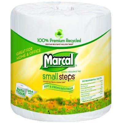 2-Ply 100% Premium Recycled Bath Tissue