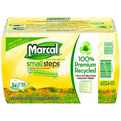 Marcal Convenience Bundle, 100% Recycled Bathroom Tissue