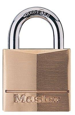 Hardened Steel No. 140 Solid Brass Padlocks
