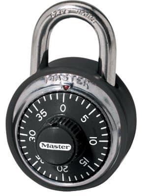 Master Lock No. 1500 Stainless Steel Combination Padlocks