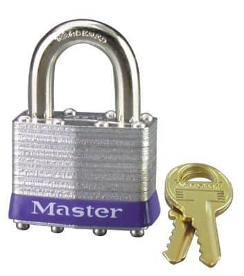 Master Blister Pack Keyed Different Tumbler Padlock
