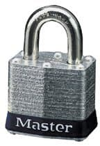 Master Lock 4 Pin No. 3 Laminated Steel Pin Tumbler Padlock